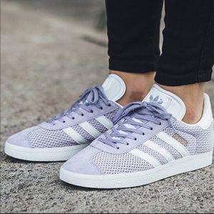 Adidas Gazelle Lilac /lavender Sneakers